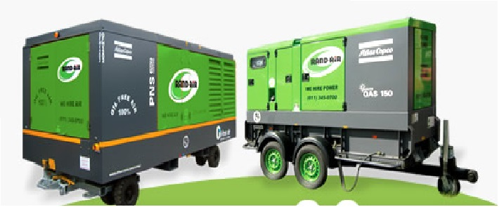 Compressors and portable gensets