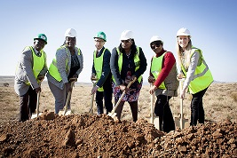 Noupoort Wind Farm ground breaking ceremony. Pic credit: Mainstream