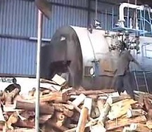 Firewood for boilers. Climate change. Pic News24