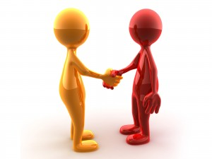 Securing a business deal