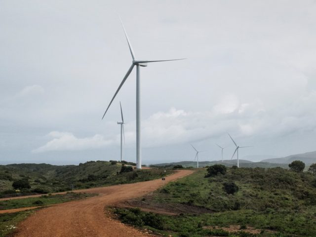 Ada wind power project
