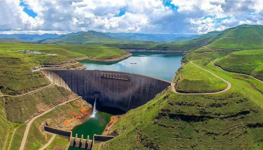 lesotho hydropower facility phase ii to begin developments this month rh esi africa com lesotho news lesotho map