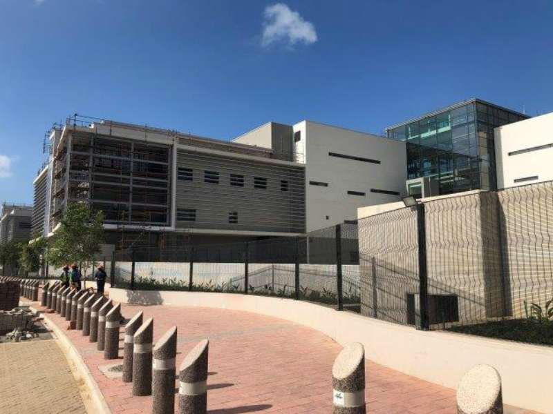 Fast-track construction of S.African hospital in response to COVID-19