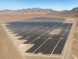 Luz del Norte Solar PV Plant in Chile