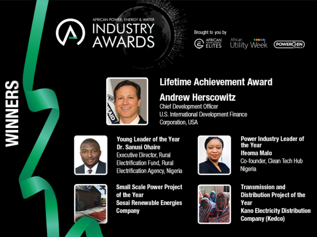2020 Annual African Power, Energy & Water Industry Awards