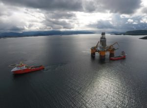 oil and gas rig Deepsea Stavanger