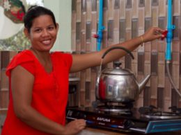 Four billion people lack access to modern cooking energy