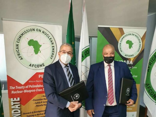 Africa commits to peaceful use of nuclear science.